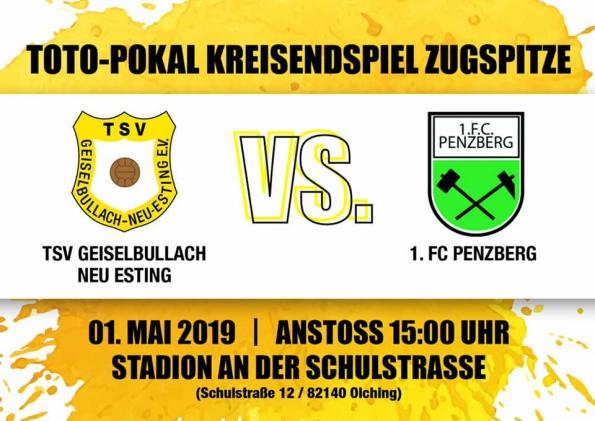 Flyer Toto-Pokal Kreisendspiel Zugspitze